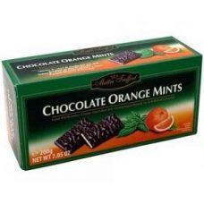 Maitre Truffout Orange Mints – шоколадные конфеты с апельсиново-мятной начинкой, 200 гр.