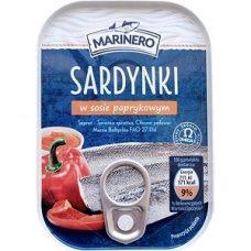 Marinero Sardynki w Sosie Paprykowym – сардины в перечном соусе, 110 гр.