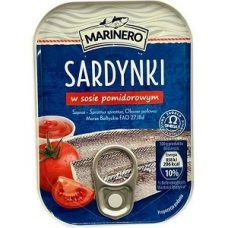 Marinero Sardynki w Sosie Pomidorowym – сардины в томатном соусе, 110 гр.