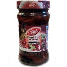 Sottile Gusto Pomidory z Zurawina – вяленые помидоры с клюквой, 270 гр.