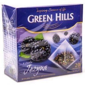 Green Hills Jezyna – травяной чай с ежевикой и солодкой, 20 шт.